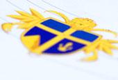 Skandinavisch Blau Gelb